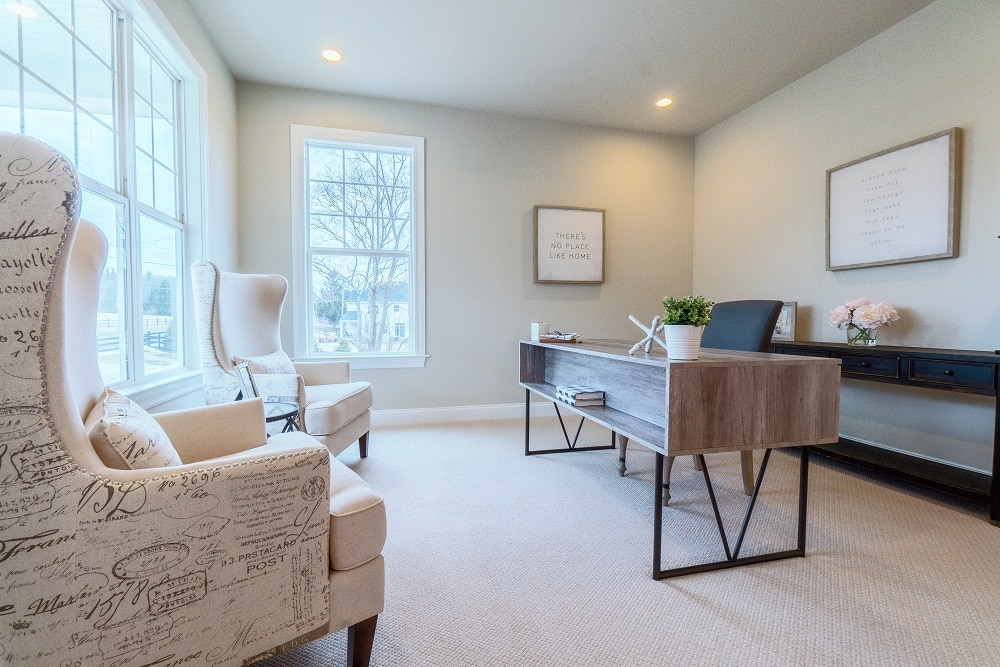 Home Office Advice from Foxlane Homes