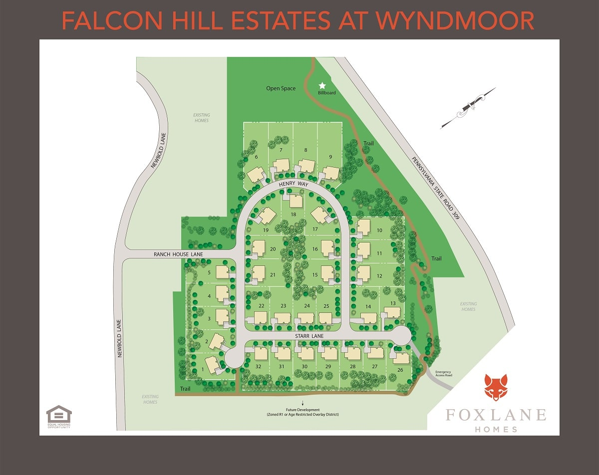 Falcon Hill Estates at Wyndmoor Coming Soon