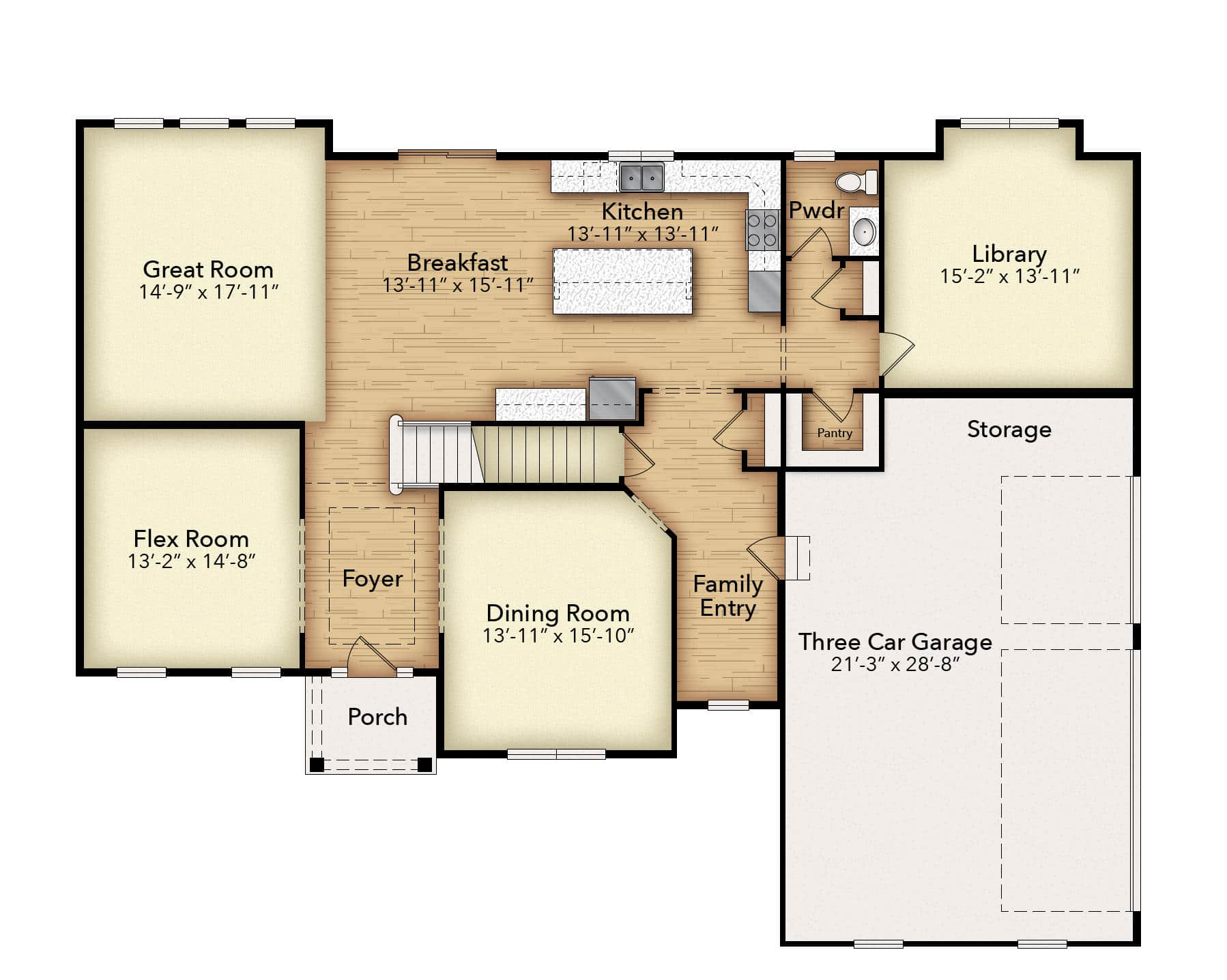 Madison First Floor